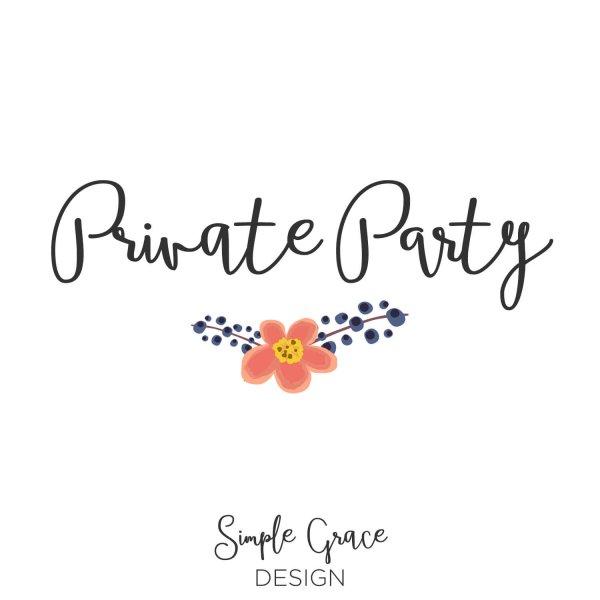 Simple Grace Designs Private Party